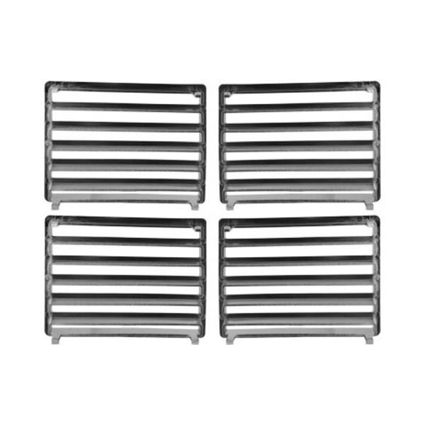 ventilation grill peugeot 307 krom. Black Bedroom Furniture Sets. Home Design Ideas
