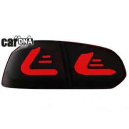 carDNA Baglygter VW Golf VI LIGHTBAR sort/rød/røgfarvet