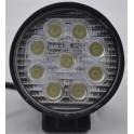 Rund Alu LED Arbejdslampe 9-32V